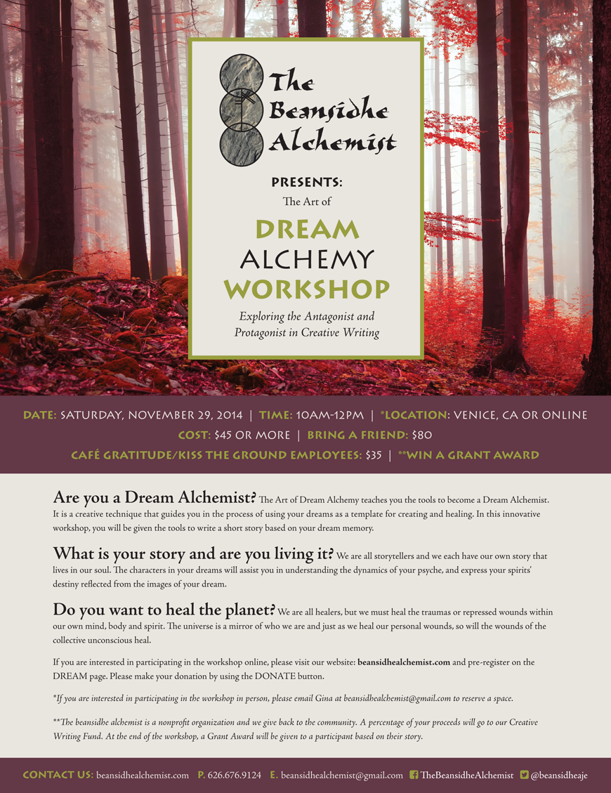 the creative writing a dream Creative writing website with creative writing tips and ideas, writing prompts, writing activities, character name generator, and more to help anyone write better.